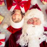 E) Ver a alegria das crianças e a expectativa delas com a chegada do Papai Noel