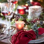 E) Adoro uma mesa festiva com toques especiais, incluindo guardanapos personalizados e outras surpresas